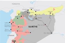 4 yılda değişen harita! Kürtler ve PYD'ye bakın!