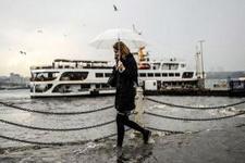 Hava durumu İstanbul'a yeni uyarı saate dikkat!