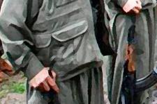 Teröristler Hakkari'de 3 TIR'ı ateşe verdi