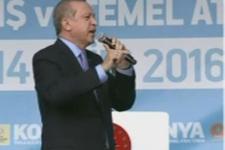 Erdoğan: Bu şarlatanlar iradelerini, akıllarını kiraya vermişler
