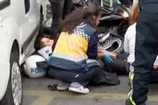 Beyoğlu'nda ehliyetsiz sürücü dehşeti!