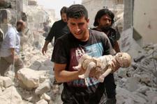 Halep'te 8 saatlik ateşkes!
