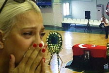 Mehmet Can Öztürk'e gözyaşları sel oldu