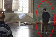 Anıtkabir'deki canlı bombanın görüntüsü şoke etti