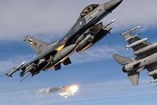 Türk jetleri PKK mevzilerine bombaladı