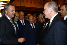 Cumhurbaşkanı Fikret Orman'ı tebrik etti