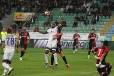 Çaykur Rizespor-Gençlerbirliği maçının sonucu ve golleri
