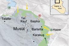 Musul operasyonu haritası son durum kırsalda sıkıştılar!