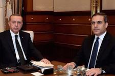 Beştepe'de Erdoğan Hakan Fidan görüşmesi