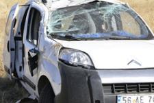 Sivas'ta korkunç trafik kazası: 1 ölü 2 yaralı!