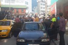 Bolu'da 2 yaşındaki çocuğa otomobil çarptı!