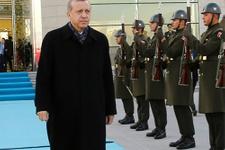 Cumhurbaşkanı Erdoğan Özbekistan'a gitti