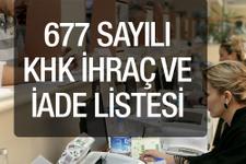 22 Kasım 2016 son Resmi gazete yeni 677 khk ihraç listesi