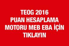 TEOG puan hesaplama 2017 MEB netini yaz puanını öğren!