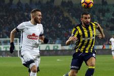 Fenerbahçe Çaykur Rizespor maçında gol yağmuru