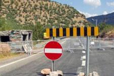 Tunceli'de çatışma! Karayolu kapatıldı!