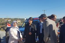 HDP'liler Kocaeli'ye alınmadı! Polis araçlarında...