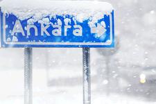 Ankara hava durumu kar sabah başladı!