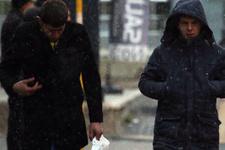 Bursa hava durumu sıcaklık düştü kar başladı