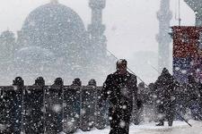 Kar geri geliyor İstanbul hava durumu için yeni uyarı
