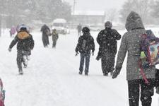 Van'da okullar tatil mi hava durumu donduruyor