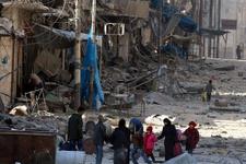 İşte yeni Halep! Esad saldırdı 100 bin kişi...