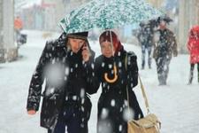 Sivas hava durumu çok yoğun kar yağışı var