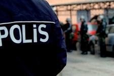 Polisten uzun namlulu silahlarla dizi seti baskını