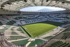 Bursaspor'un yeni stadı Timsah Arena'da sorun var