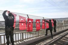 Cizre'de operasyon bitti bayraklar asıldı