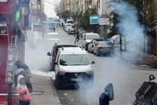 Gazi Mahallesi'nde TOMA'lı müdahale!