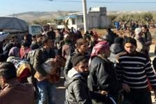 Binlerce Suriyeli Türkiye sınırına dayandı!