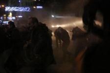 Taksim'de Cizre eylemine sert müdahale!