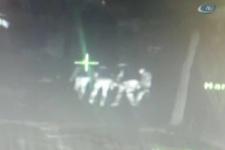 Cizre'de 4 PKK'lının vurulma anı
