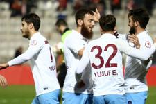 Trabzonspor Samsunspor maçı sonucu ve özeti
