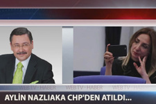 Melih Gökçek'ten CHP'den atılan Aylin Nazlıaka'ya destek