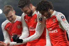 Arsenal FA Cup'ta çeyrek finale yükseldi
