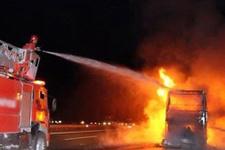 İstanbul otogarında yangın dehşeti