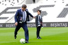 Davutoğlu'ndan esprili Messi cevabı