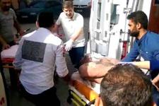 İzmir'de 9 işçi kimyasal kazanın içine düştü