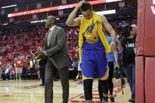 Curry'den Warriors'a kötü haber