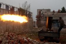 TSK Halep'i vurdu IŞİD teröristleri öldürüldü