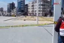 Taksim'de bomba alarmı polis meydanı kapattı!
