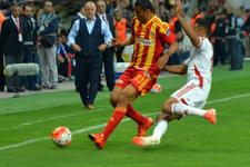 Medicana Sivasspor maçında gülen Kayserispor oldu