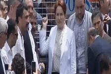 Meral Akşener bariyeri kucakladı! Buradan ayrılmayacağım