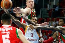 Karşıyaka Galatasaray'ı deplasmanda geçti