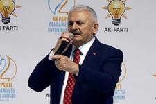 AK Parti Kongresi Binali Yıldırım firesiz genel başkan