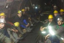 Kilimli maden grevi son durum bağlantı kesildi 28 madenci...