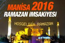 Manisa İmsakiye 2016 iftar ezan saatleri sahur vakti