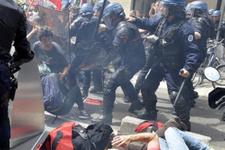 Fransa'daki grevler hayatı durdurdu!